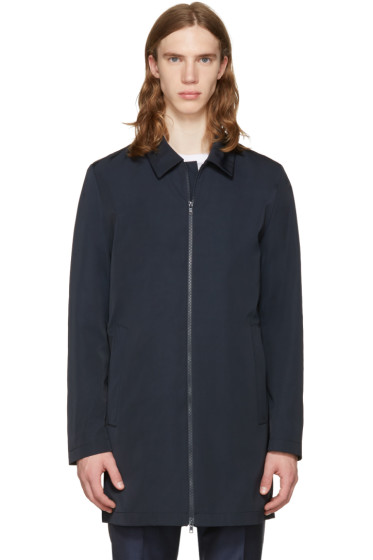 Tiger of Sweden - Navy Brumos Coat