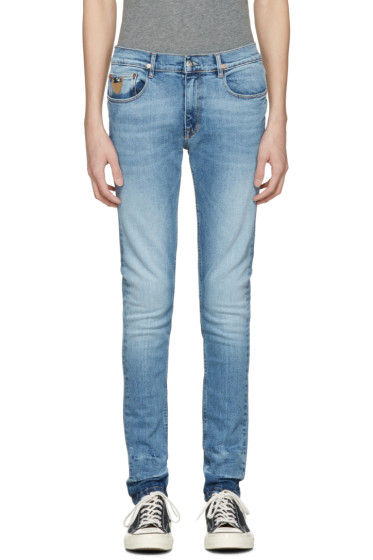 April77 - Blue Joey Kurt Deconstruct Jeans