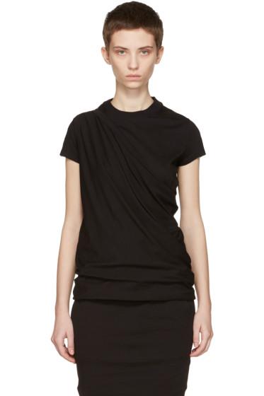 Rick Owens Drkshdw - Black Island T-Shirt