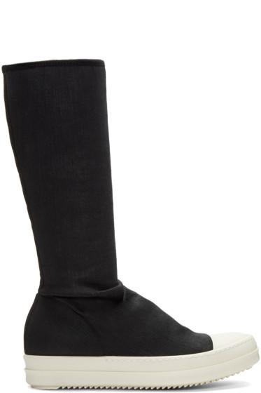 Rick Owens Drkshdw - Black Sock Boots