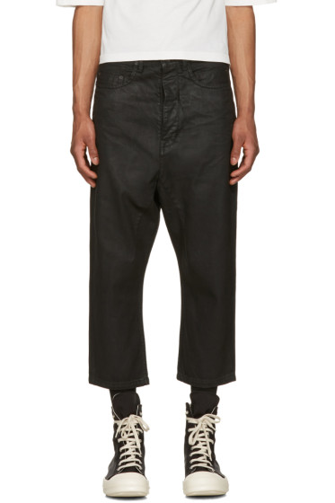 Rick Owens Drkshdw - Black Cropped Astaires Jeans