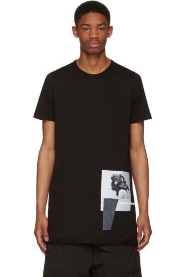 Rick Owens Drkshdw - Black Level Patch T-Shirt