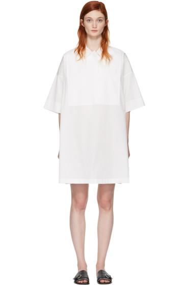 Acne Studios - White Sena Dry Poplin Dress