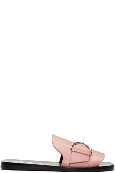 Acne Studios - Pink Virgie Sandals