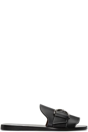 Acne Studios - Black Virgie Sandals