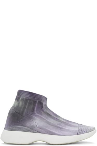 Acne Studios - SSENSE Exclusive Grey Batilda Sneakers