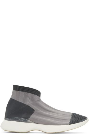 Acne Studios - Grey Tristan Low Sneakers