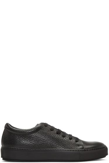 Acne Studios - Black Adrian Grain Sneakers