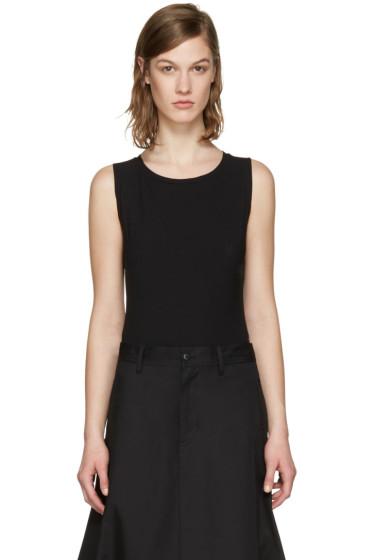 Y-3 - Black Sleeveless Bodysuit