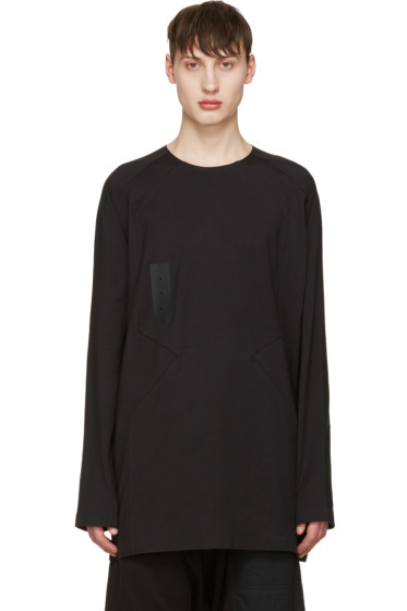 Y-3 - Black Skylight Long Sleeve T-Shirt