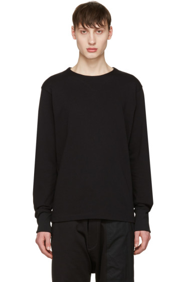 Y-3 - Black Future Craft Long Sleeve T-Shirt
