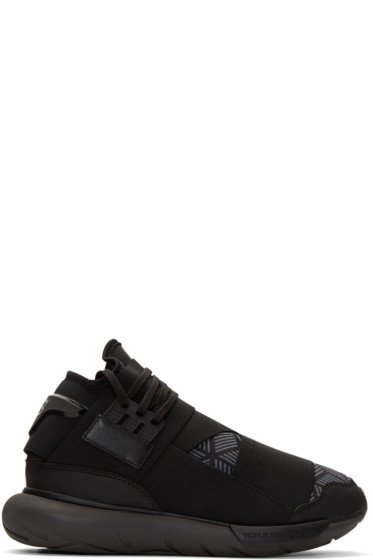 Y-3 - Black Qasa High Sneakers