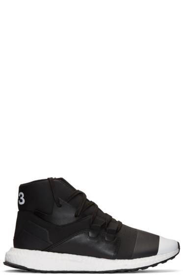 Y-3 - Black Kozoko High-Top Sneakers