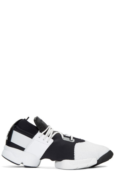 Y-3 - Black & White Kydo Sneakers