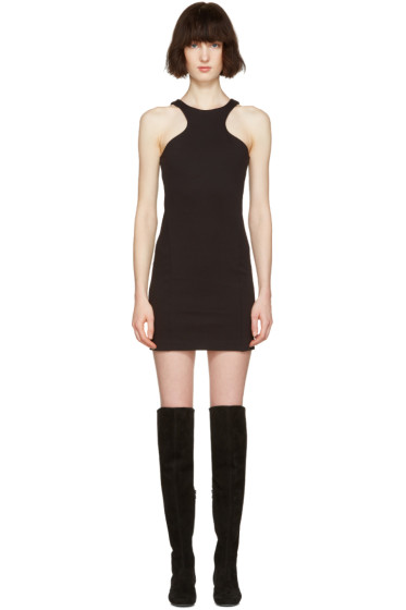 Dsquared2 - Black Compact Cotton Dress
