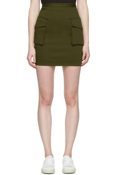 Dsquared2 - Green Cargo Skirt