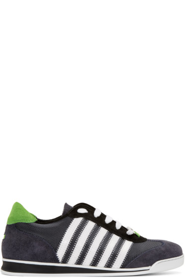 Dsquared2 - Grey & White New Runner Sneakers