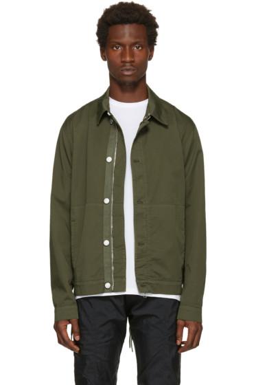 Helmut Lang - Green Side Laced Jacket