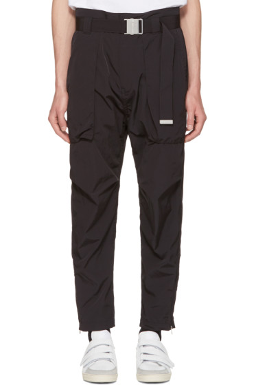 Helmut Lang - Black Belted Trousers