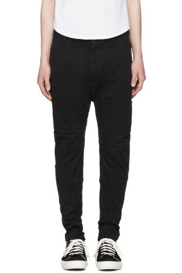 Helmut Lang - Black Straps Trousers