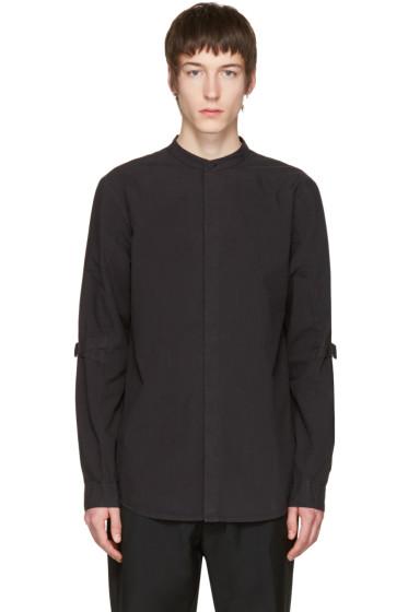 Helmut Lang - Black Elbow Strap Shirt