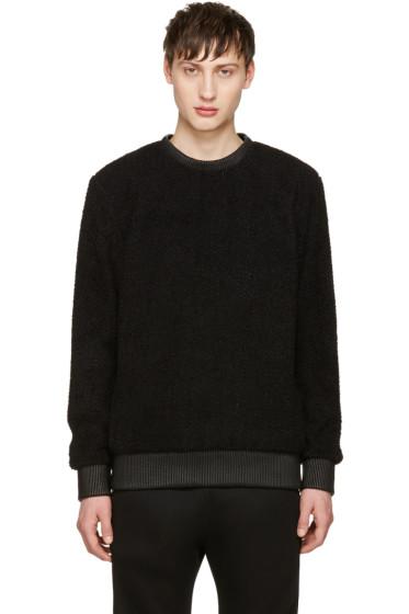 Helmut Lang - Black Sherpa Sweater
