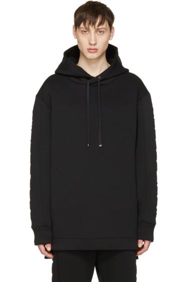 Helmut Lang - Black 3D Logo Hoodie