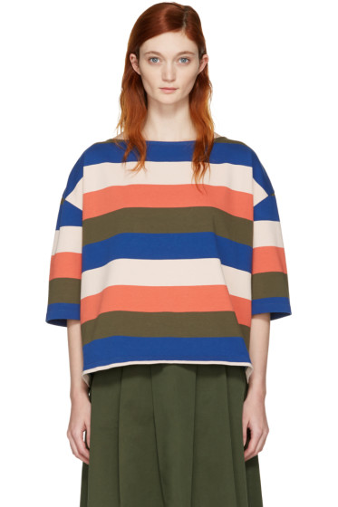 YMC - Multicolor Oversized Agnes T-Shirt