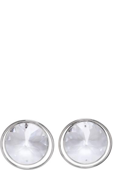 Maison Margiela - Silver Crystal Earrings