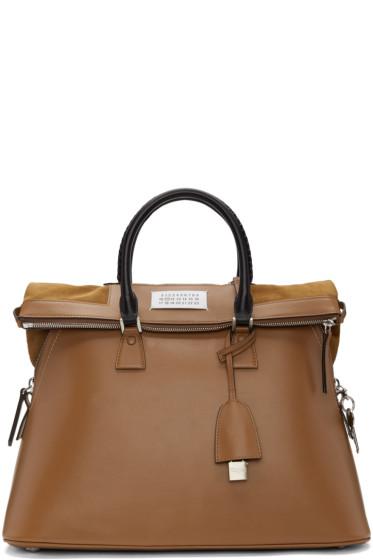 Maison Margiela - Brown Large 5AC Bag