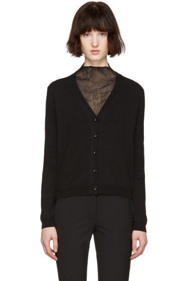 Maison Margiela - Black Gauge 14 Cardigan