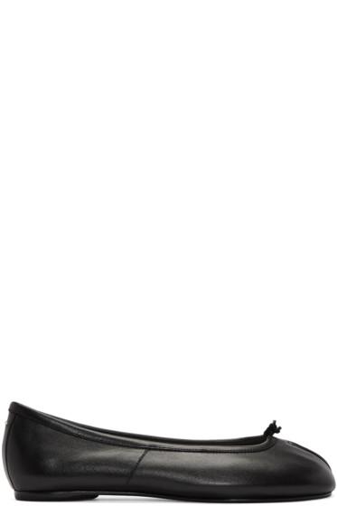 Maison Margiela - Black Tabi Ballerina Flats