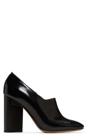 Maison Margiela - Black Leather Heels