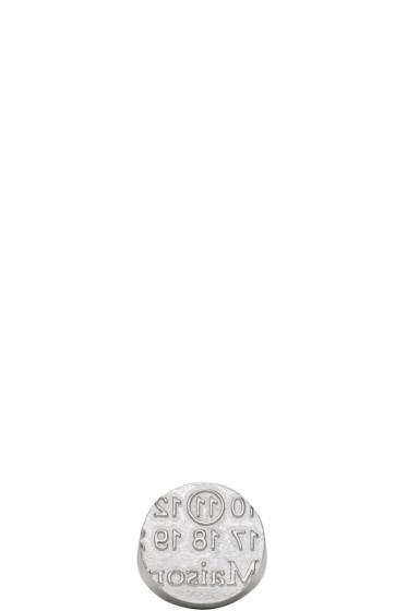 Maison Margiela - Silver Round Logo Ring