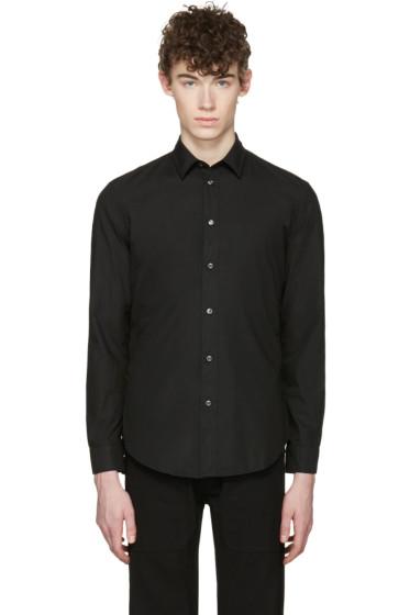 Maison Margiela - Black Garment-Dyed Shirt