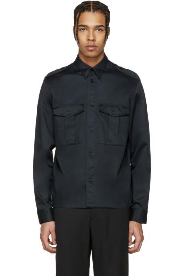 Maison Margiela - Black Military Shirt