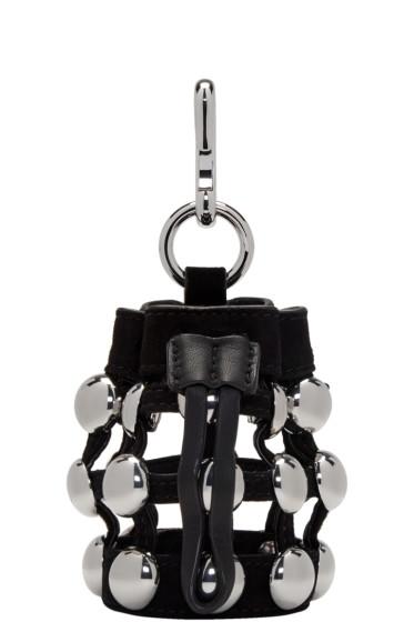 Alexander Wang - Black Mini Roxy Pouch Keychain