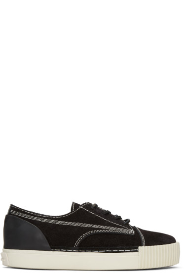 Alexander Wang - Black Suede Perry Sneakers