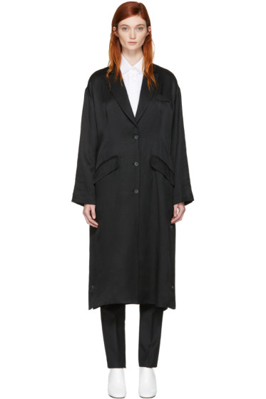 MM6 Maison Margiela - Black Regular Long Coat