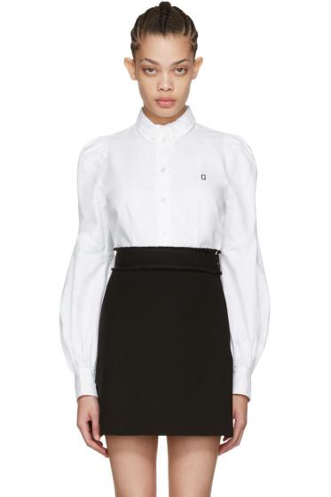 Marc Jacobs - White Bishop Sleeve Shirt