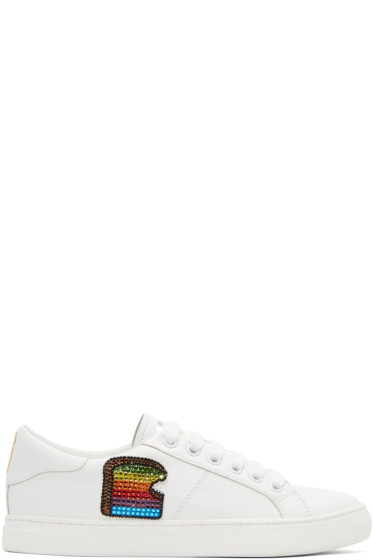 Marc Jacobs - White Empire Toast Sneakers