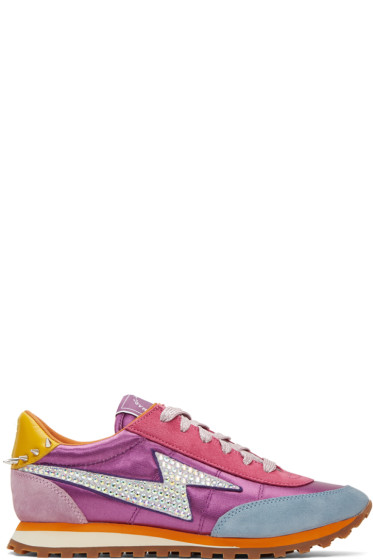 Marc Jacobs - Multicolor Astor Lightening Bolt Jogger Sneakers
