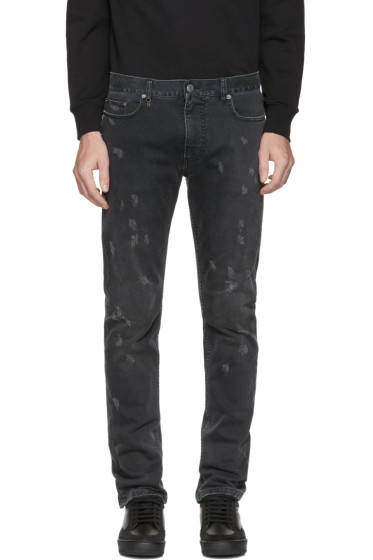 Marc Jacobs - Black Distressed Jeans