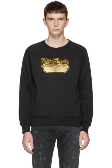 Marc Jacobs - Black Hot Dog Pullover