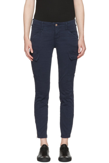 J Brand - Navy Houlihan Cargo Trousers