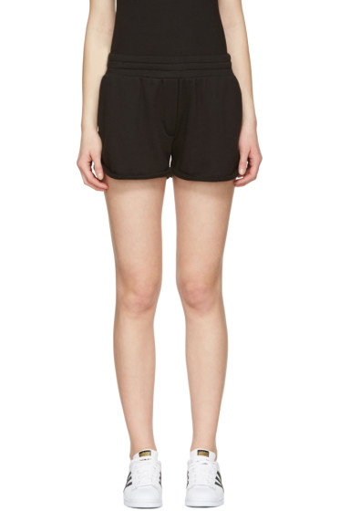 T by Alexander Wang - Black Gym Shorts