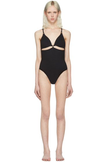 T by Alexander Wang - Black Cut-Out Swimsuit