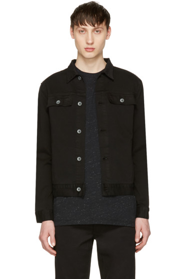 Robert Geller - Black Denim Jacket