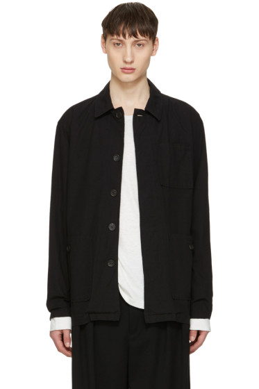 Robert Geller - Black Cotton Jacket