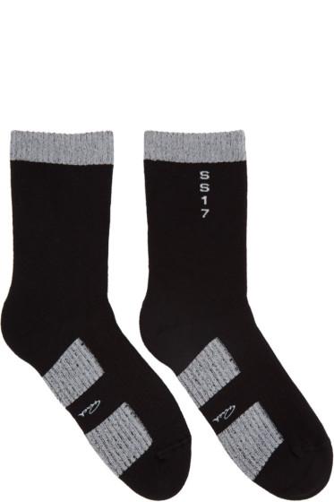 Rick Owens - Black Walrus Socks